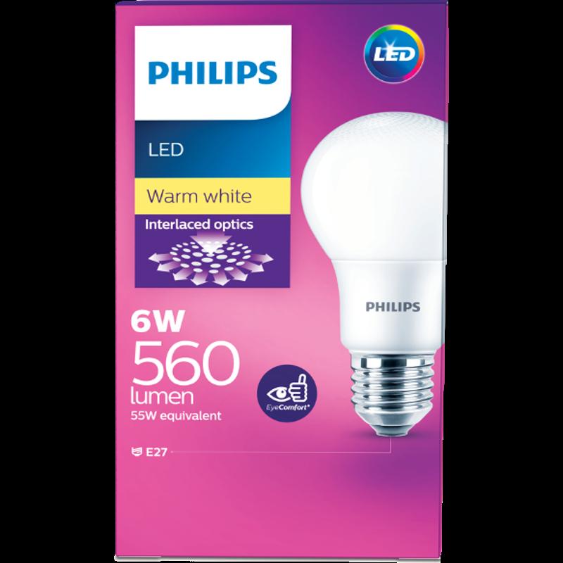 Philips led bulb 6w