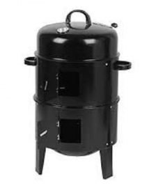 charcoal vertical barrel smoker