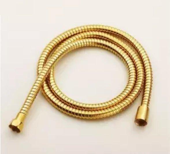 Gold bidet spray rinse set hose