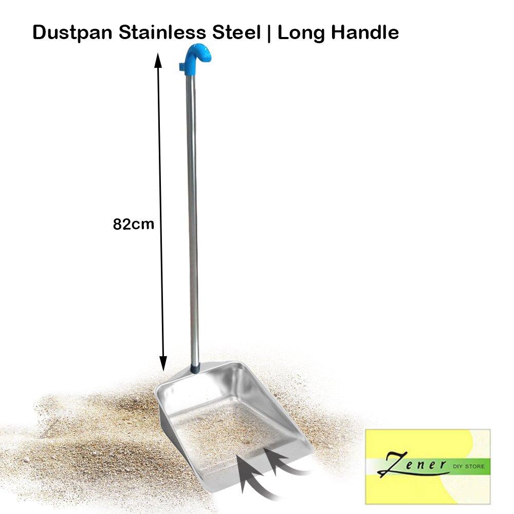 Dustpan Stainless Steel | Long Handle