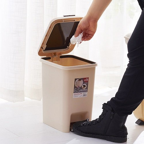 Pedal dustbin 10 liters