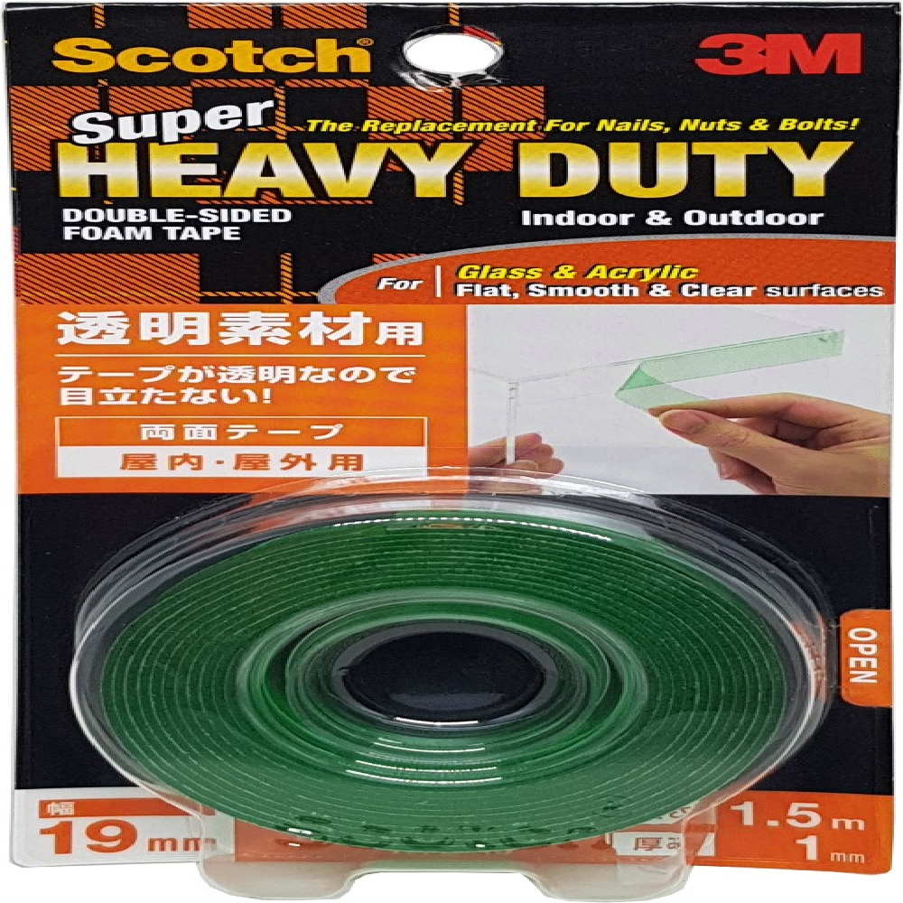 Scotch 3M super Strong Clear Double sided Tape   Glass - Acrylic Tape