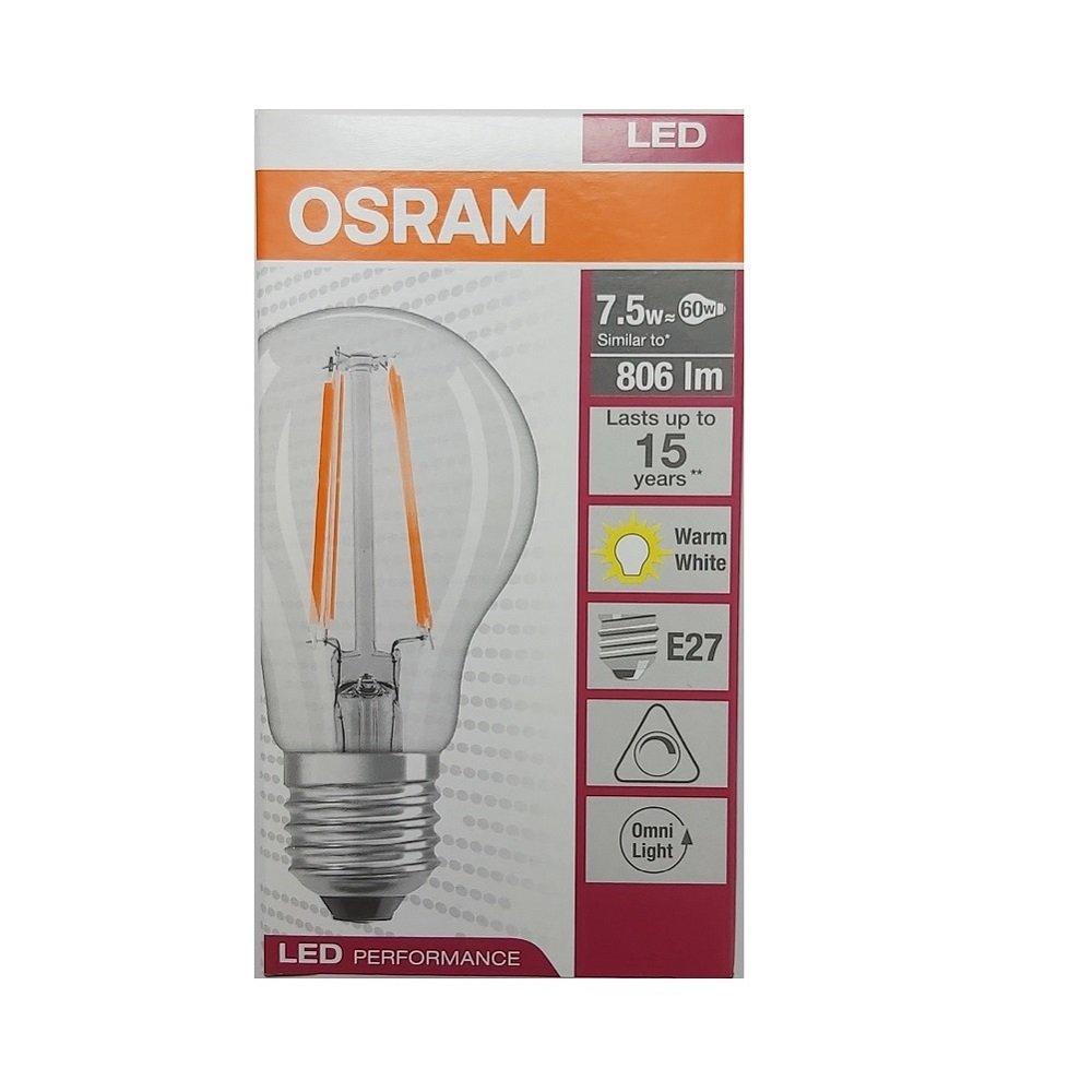 osram E27 7.5w ww