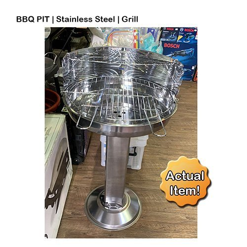 BBQ Pit Stand Griller
