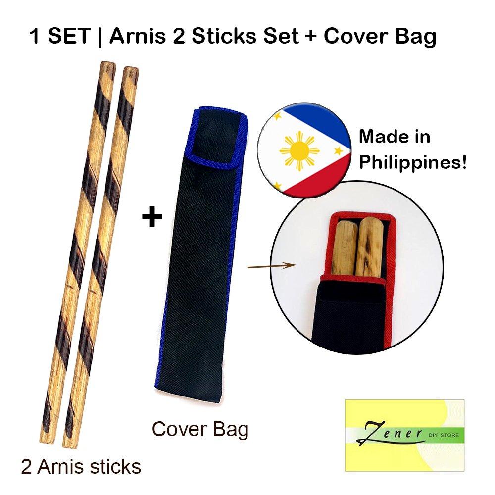 Arnis 2 Sticks Set + Cover Bag (Kali) | 1 SET