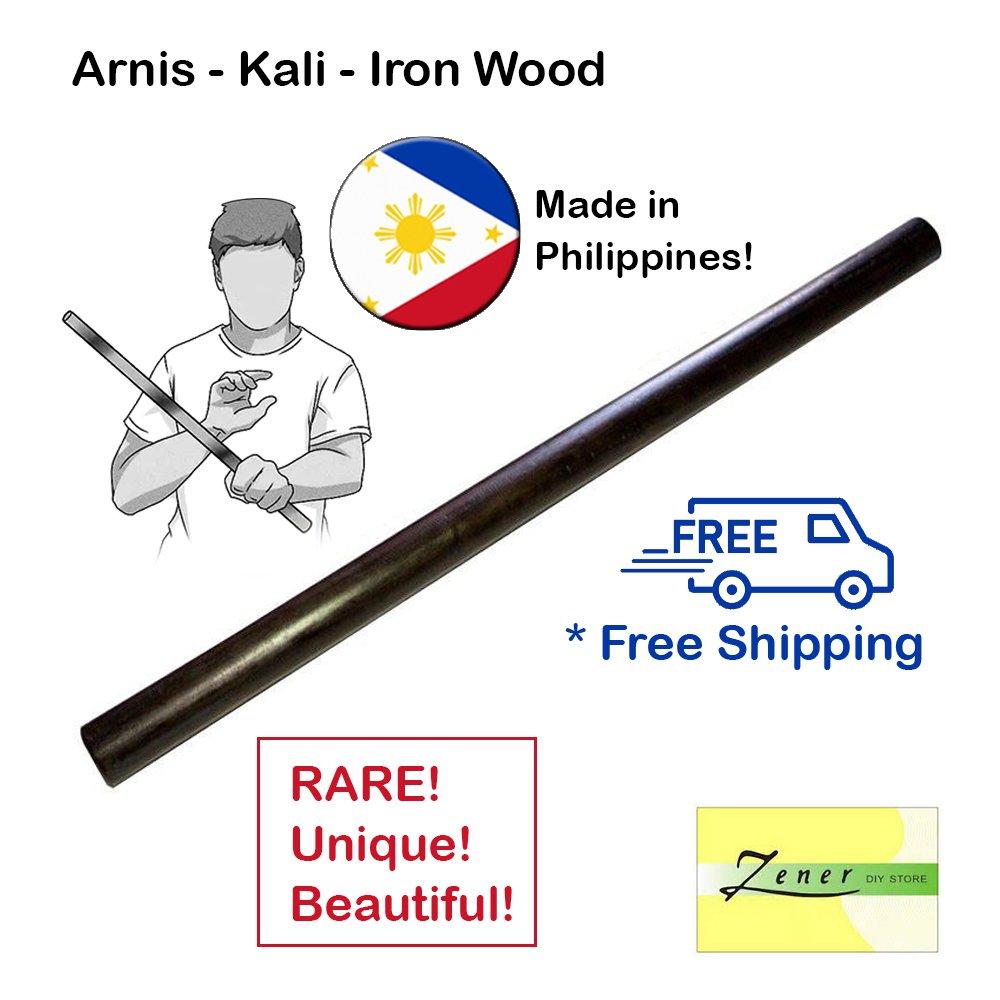 Arnis - Kali - Iron Wood Stick | 1 PC - Free Shipping