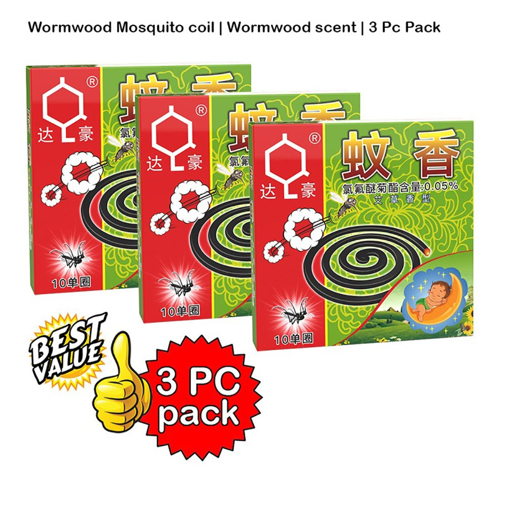 Wormwood Mosquito coil | Wormwood scent | 3 Pc Pack