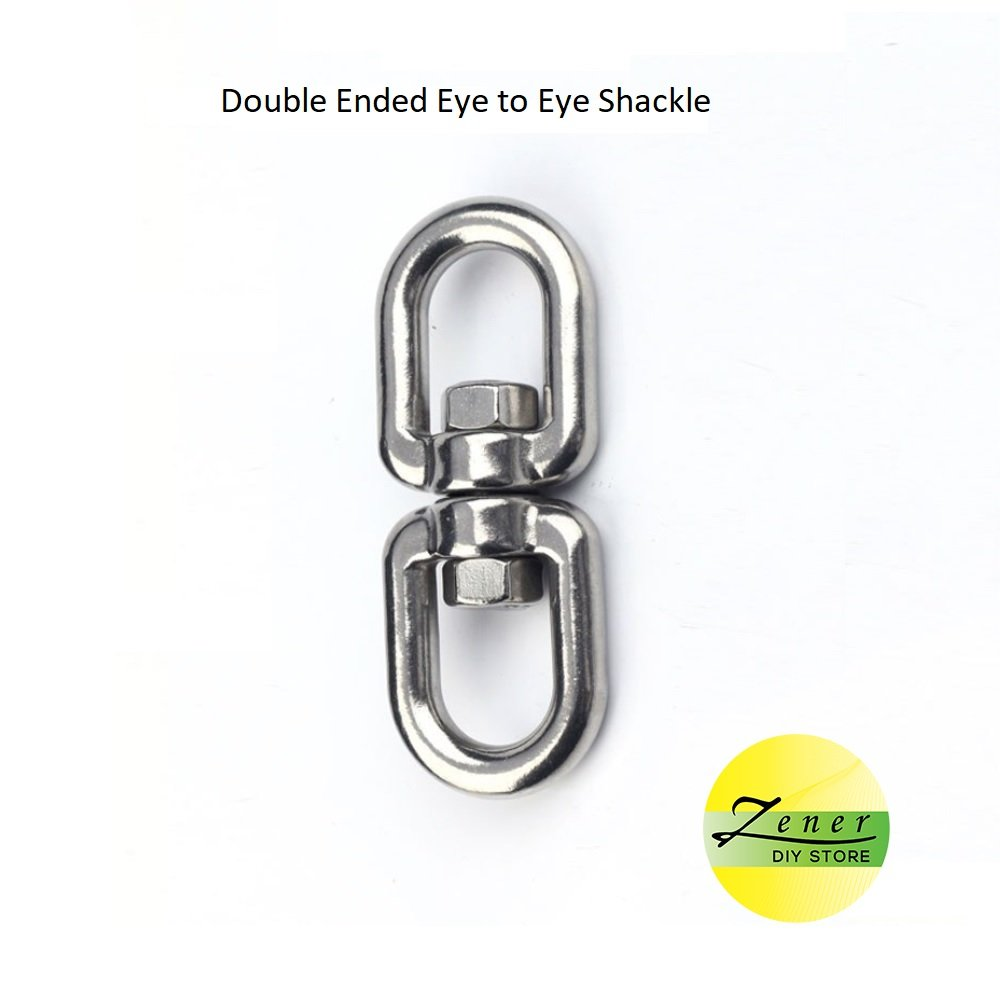 Double Ended Eye to Eye Shackle